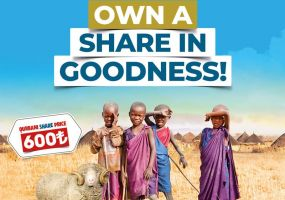 Own a share in goodness!