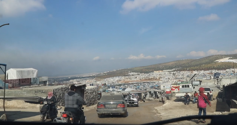 New Refugee Camp in Afrin